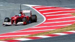 Kurvendiskussion: Der Wagen will nicht so, wie Chefpilot Alonso will