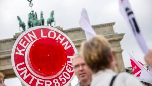 SPD beschwert sich über Kritik der Gewerkschaften