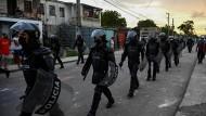 Polizei in Havanna