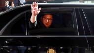 Ende des innerkoreanischen Gipfels: Kim Jong-un verabschiedet sich