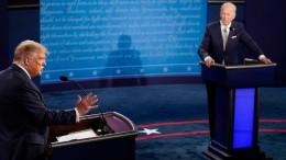 Erste Debatte zwischen Trump und Biden