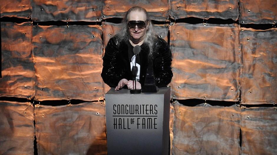 """Liebte die Extreme und das Drama: Jim Steinman, hier bei einer Gala der """"Songwriters Hall of Fame"""" im Jahr 2012"""