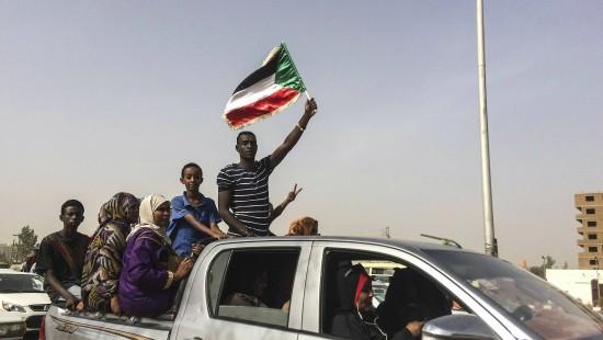 Anhaltende Proteste in Khartum
