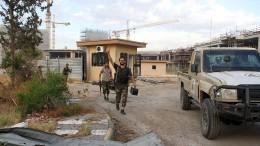 Einheitsregierung verkündet Ende der Belagerung von Tripolis