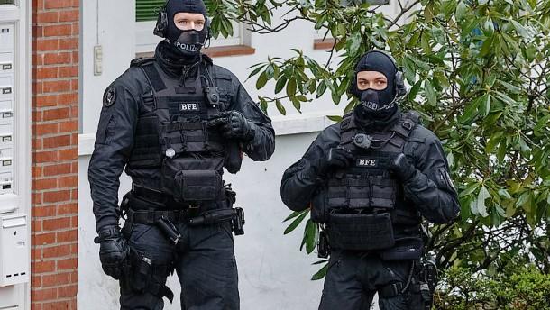 Randalierer bei SEK-Einsatz erschossen