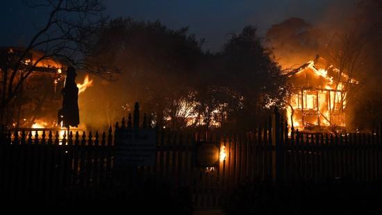 Rund 100 Buschbrände an einem Tag in New South Wales