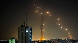 Tel Aviv steht unter Raketenbeschuss