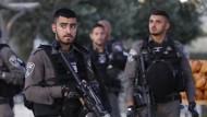 Polizistin bei Angriff in Jerusalem getötet