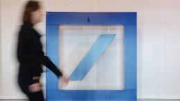 Deutsche Bank plant offenbar 'Bad Bank'