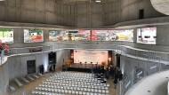 Unvollendet: Obwohl der Kammermusiksaal im Casals-Forum in Kronberg noch nicht fertig ist, hat es darin schon ein Konzert gegeben.