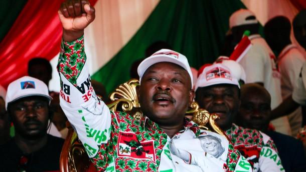 Burundis Langzeit-Präsident gestorben
