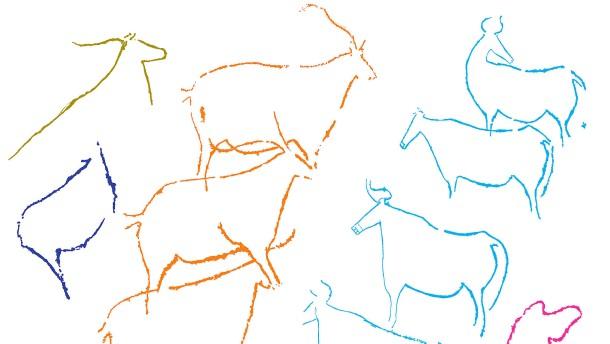 Wimmelbilder der Steinzeit