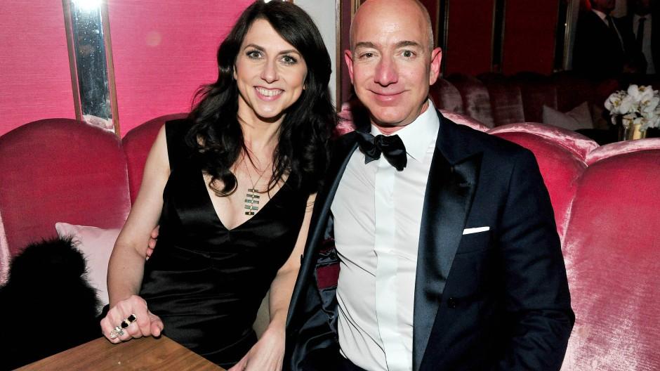 Die Schriftstellerin und der Online-Händler: MacKenzie und Jeff Bezos im Jahr 2017