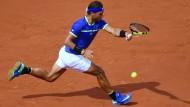 Eine Klasse für sich: Rafael Nadal glänzt in Paris.