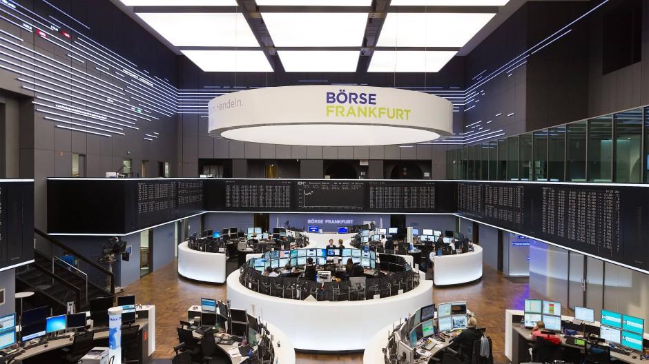 Die Deutsche Börse in Frankfurt am Main