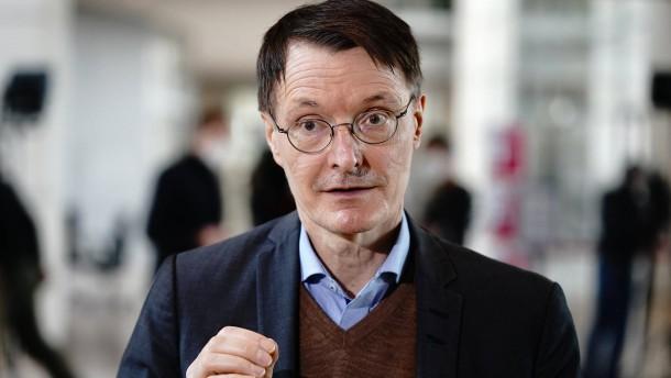 Lauterbach fordert Reiseverbot für Briten in die EU