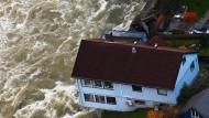 Überschwemmungen nach Starkregen