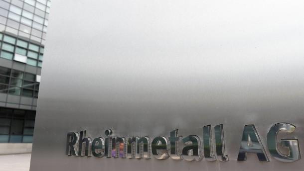 Rheinmetall will ein Rüstungsriese werden