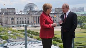 Merkel und Putin wollen politische Lösung für Syrien