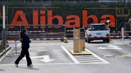 China verhängt Rekordstrafe gegen Alibaba