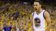 Stephen Curry gelingt die spektakuläre Wende