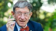 Scheidet nach 41 Jahren als Bundestagsabgeordneter aus dem Parlament aus: der frühere Bundesforschungsminister Heinz Riesenhuber