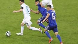 Messis Tor reicht Argentinien nicht