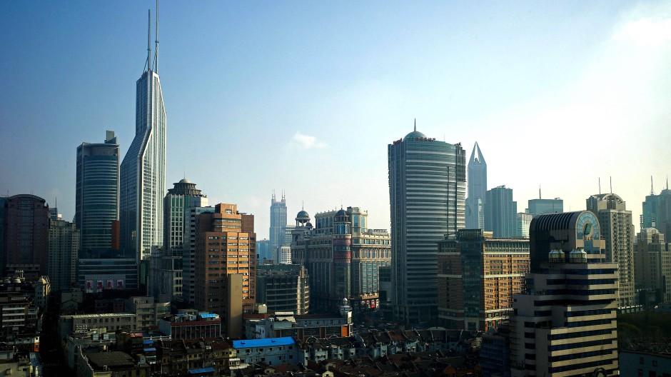 Blick auf Schanghai: In solchen Metropolen lässt sich kaum noch Biomasse finden.