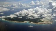 North Sentinel Island aus der Luft