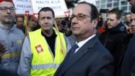 Hollande wehrt sich gegen Lästereien von Trump