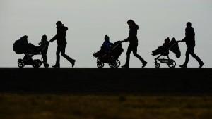 Starker Anstieg ausländischer Empfänger von Kindergeld