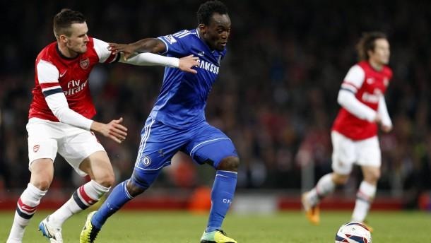 Arsenal verliert gegen Chelsea