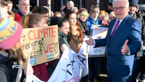 Steinmeier lobt Schülerdemos für Klimaschutz