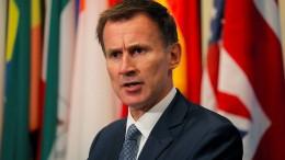 Hunt: Tusk hat britisches Volk beleidigt