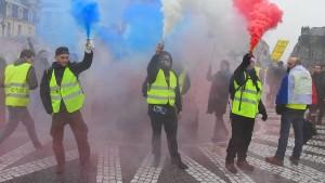 Protest nach Macrons Rezept