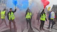 Wie aus dem Nichts: Gelbwesten am Samstag in Bordeaux