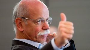 Gehaltserhöhung für den Daimler-Chef