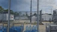 Wie in der Gefängniszelle: Australien steht wegen der Zustände im Flüchtlingslager auf Manus in der Kritik.