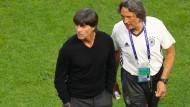 Hört bei der Nationalmannschaft auf: Müller-Wohlfahrt (rechts)
