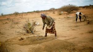 Hunger tötete eine Viertelmillion Menschen