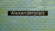 Brutaler Angriff am U-Bahnhof Alexanderplatz
