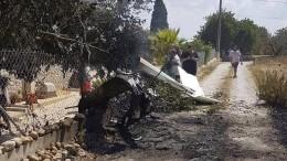 Flugzeug und Hubschrauber kollidieren über Mallorca
