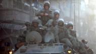 Fernab der Heimat: Russische Soldaten im Kampfgebiet in Aleppo