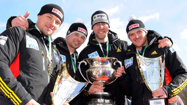 Bobsleigh World Championships in St. Moritz