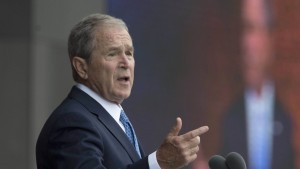 George W. Bush nimmt Presse vor Trump in Schutz