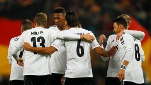 Deutschland für die WM 2014 qualifiziert