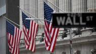 Die New Yorker Börse in der Wall Street