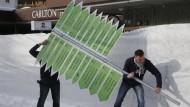 Wo geht es eigentlich lang? In Davos herrscht eine gewisse Orientierungslosigkeit