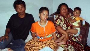 Totgeglaubtes Mädchen kehrt zu Familie zurück