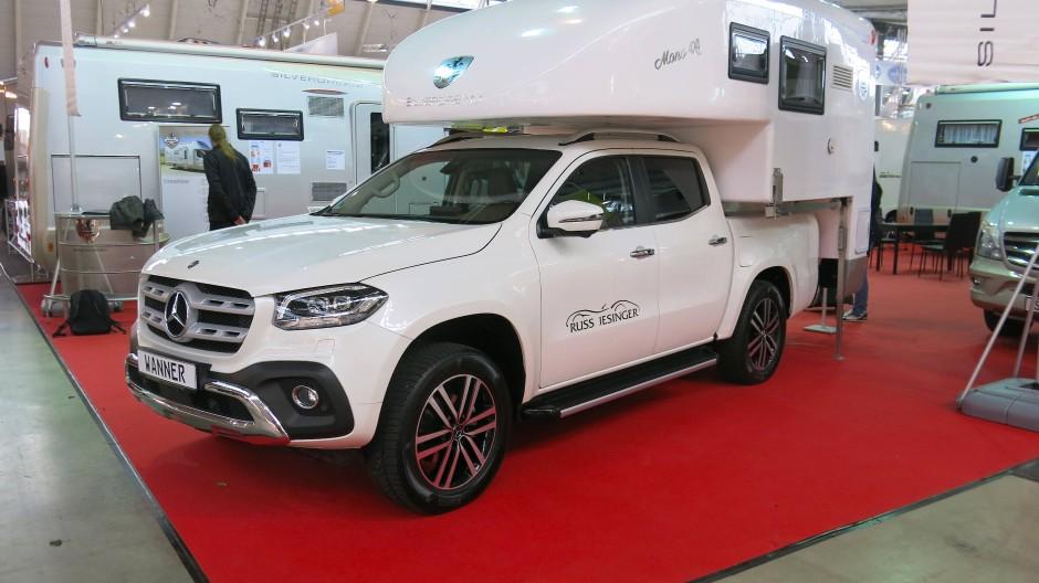 Brandneu und gleich mit Kabine: Mercedes-Benz-X-Klasse mit Aufbau von Wanner